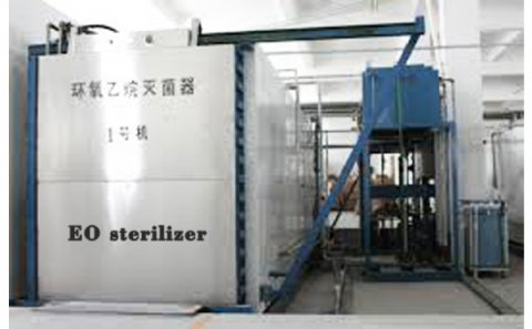Ethylene oxide sterilization cabinet for ma