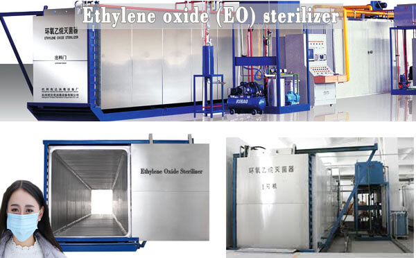 ethylene oxide gas sterilization