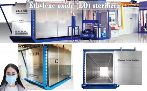 Ethylene oxide sterilization of medical dev