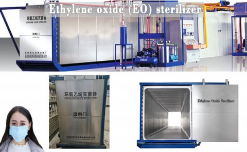 Ethylene oxide sterilization of medical devices